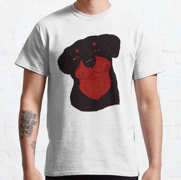 Thoughtful Rottweiler Classic T-Shirt