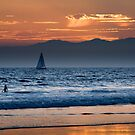 sunset at Venice Beach, Los Angeles by danwa