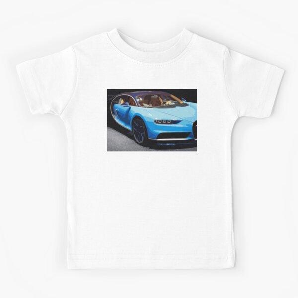 Bugatti Chiron Kids T-Shirt
