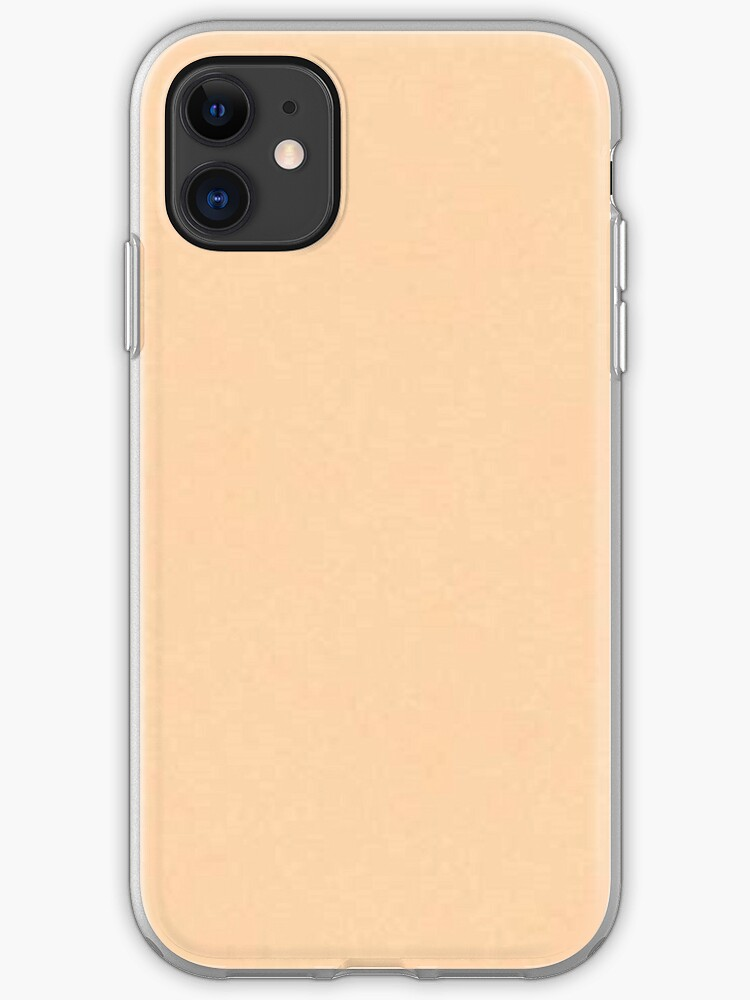 plain peach background iphone case cover by dizzydot redbubble redbubble