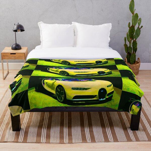 Bugatti Chiron Throw Blanket