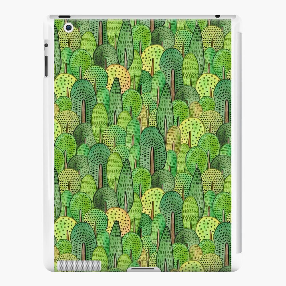 Watercolor forest Vinilos y fundas para iPad