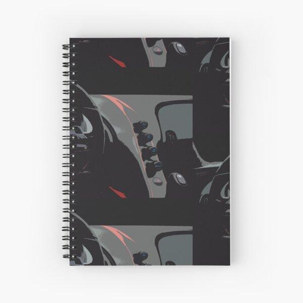 Bugatti Chiron Sport Interior Spiral Notebook