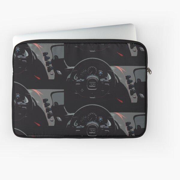 Bugatti Chiron Sport Interior Laptop Sleeve