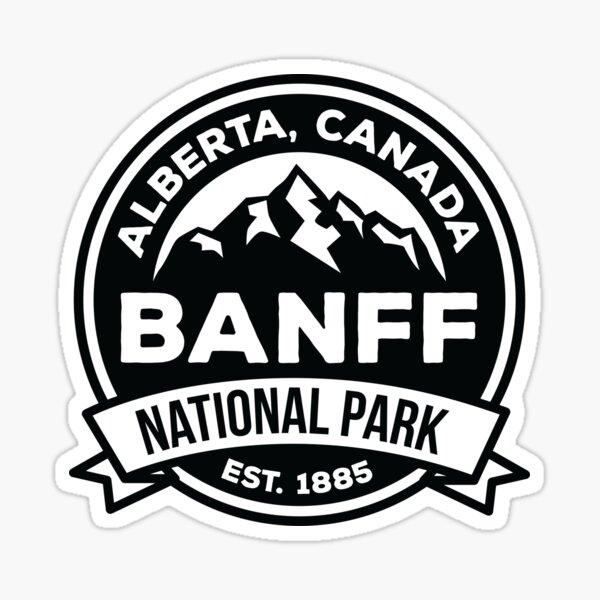 Banff National Park Alberta Canada  Sticker