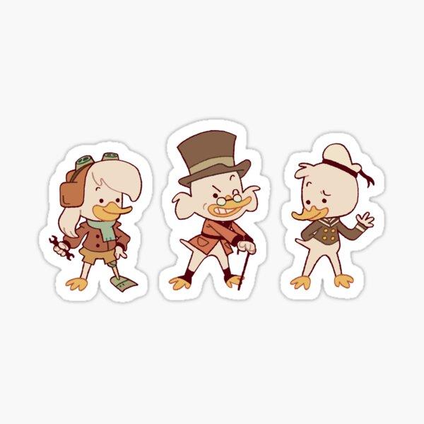 Ducktales: McDuck Trio  Sticker