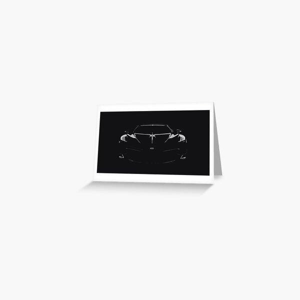 Bugatti La Voiture Noire Greeting Card