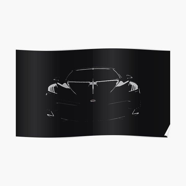 Bugatti La Voiture Noire Poster