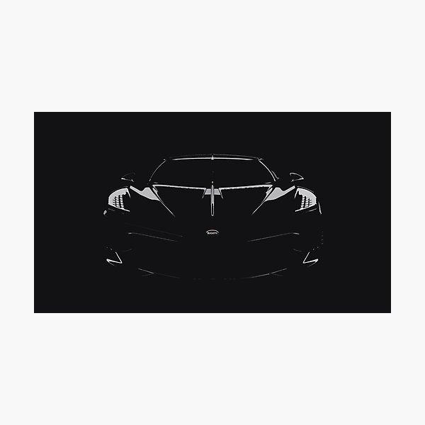 Bugatti La Voiture Noire Photographic Print