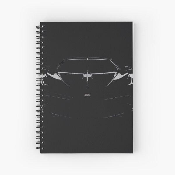 Bugatti La Voiture Noire Spiral Notebook