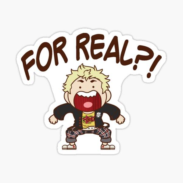 Ryuji - FOR REAL? Chibi Sticker