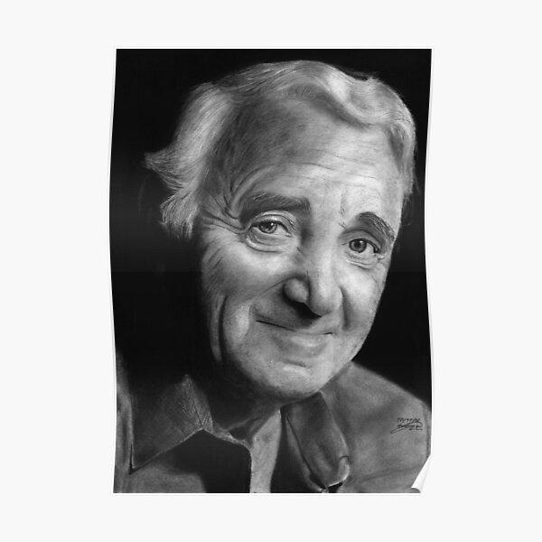 Art print POSTER Canvas Singer-Songwriter George Brassens