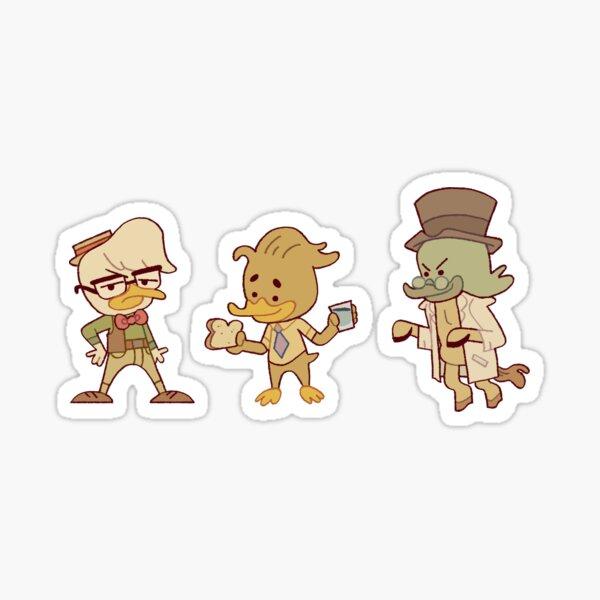 Ducktales: Science Squad Sticker