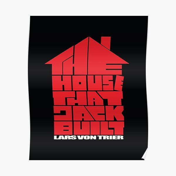 the house that jack tee Poster