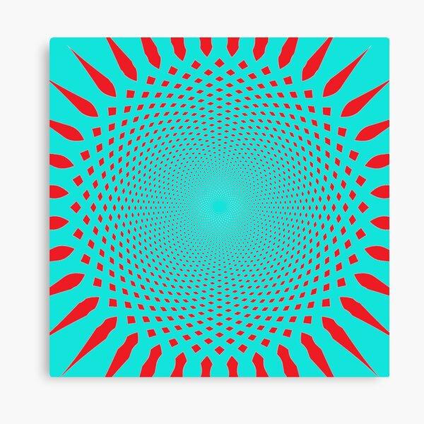 #MOVING #EYE #ILLUSION #Pattern, design, circular, abstract, illustration, art Canvas Print