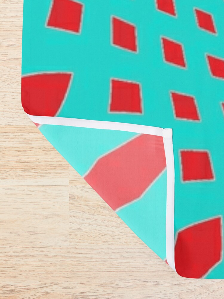 Alternate view of #MOVING #EYE #ILLUSION #Pattern, design, circular, abstract, illustration, art Shower Curtain
