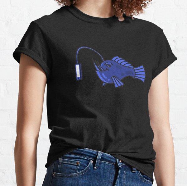 Anglerfish Social Media Classic T-Shirt
