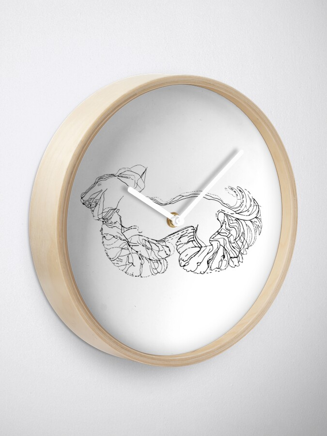 Alternate view of Wiggly Waggly Wiener Dog Walking Clock