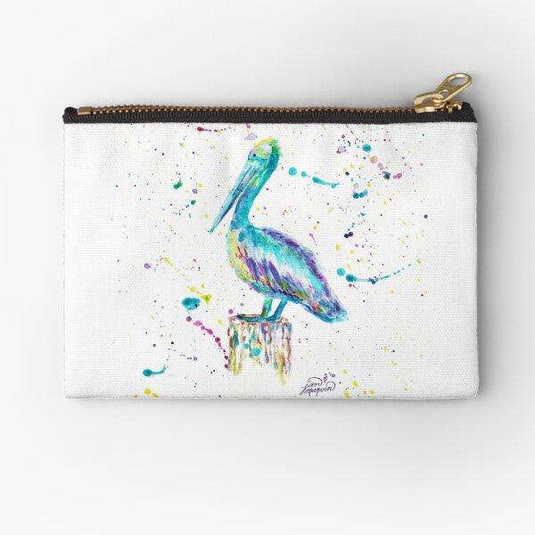 Pelican by Jan Marvin Zipper Pouch