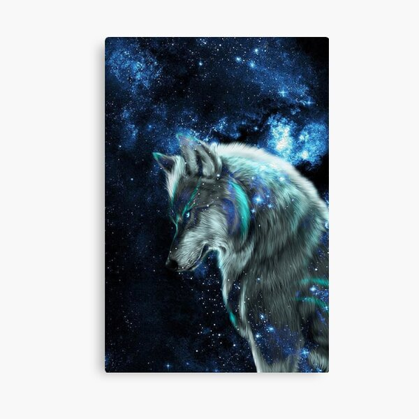 Fantasy Lion Animal Space Galaxy Earth Mountain Large Poster Canvas Pictures