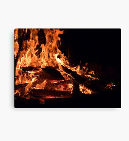 Fire... Canvas Print