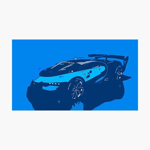 Bugatti Vision Gran Turismo Photographic Print