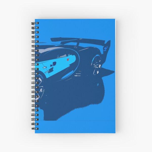 Bugatti Vision Gran Turismo Spiral Notebook