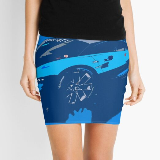 Bugatti Vision Gran Turismo Mini Skirt