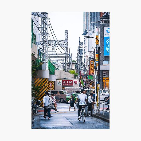 Exploring around Shinjuku in Tokyo Photographic Print