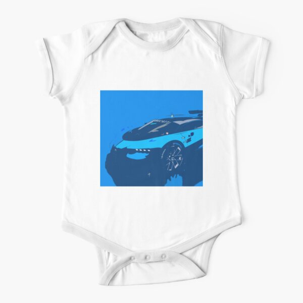 Bugatti Vision Gran Turismo Short Sleeve Baby One-Piece