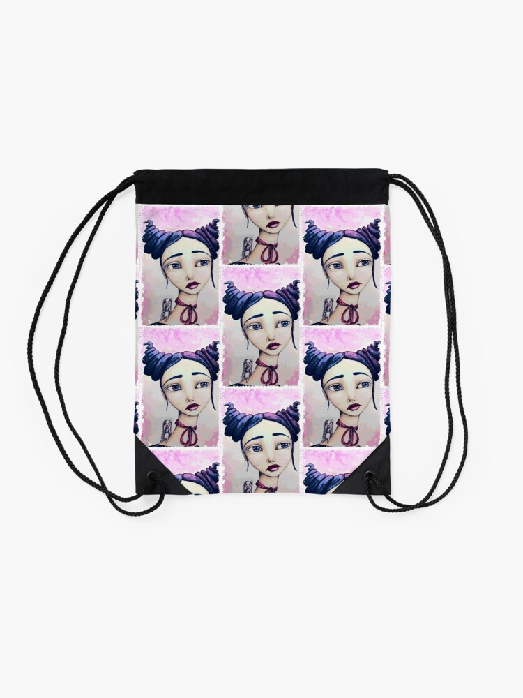 Alternate view of Bunny and Me Drawstring Bag