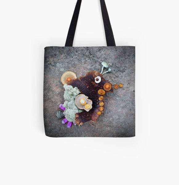 Oh the Places You'll Go All Over Print Tote Bag