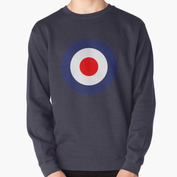Mod Symbol Vespa Scooter UK Roundel Pullover Sweatshirt