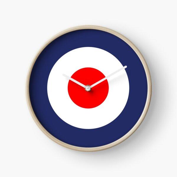 Mod Symbole Vespa Scooter UK Roundel Horloge