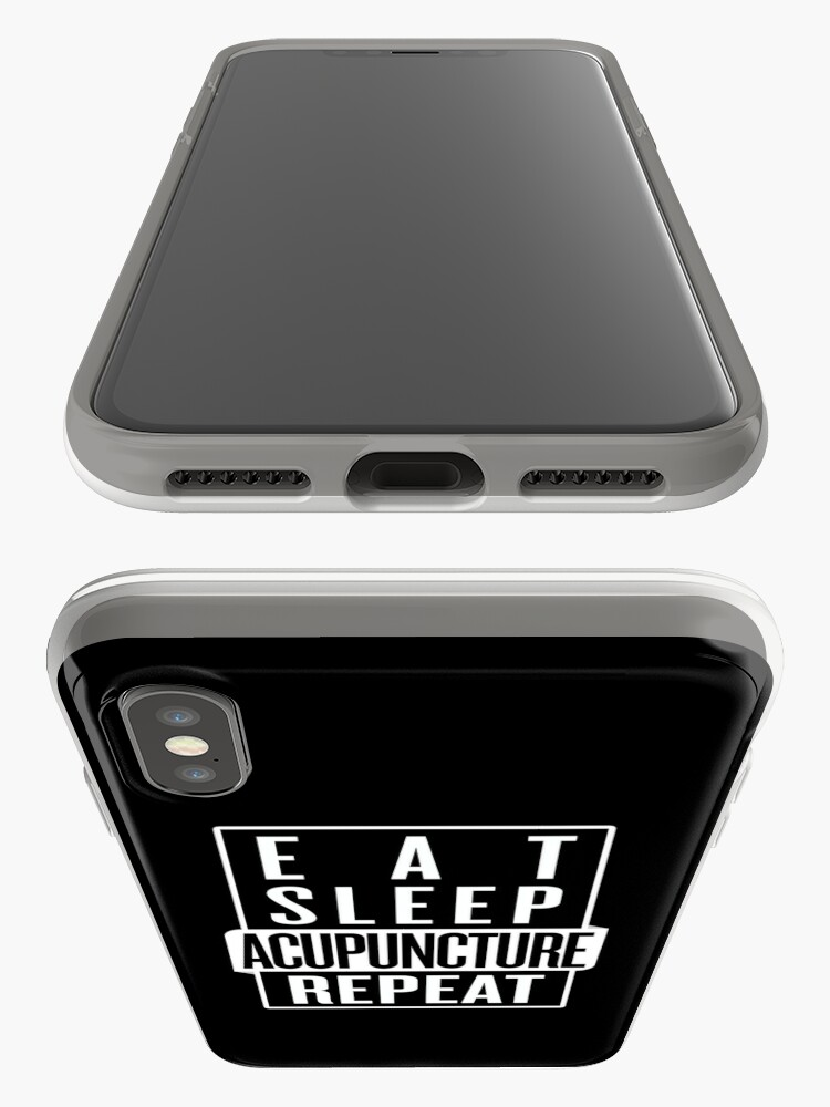 Alternate view of Eat Sleep Acupuncture Repeat iPhone Case & Cover