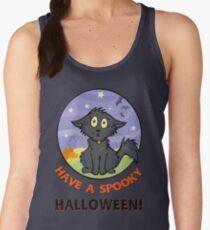 Scaredy Cat - Alternate T-shirt! Women's Tank Top