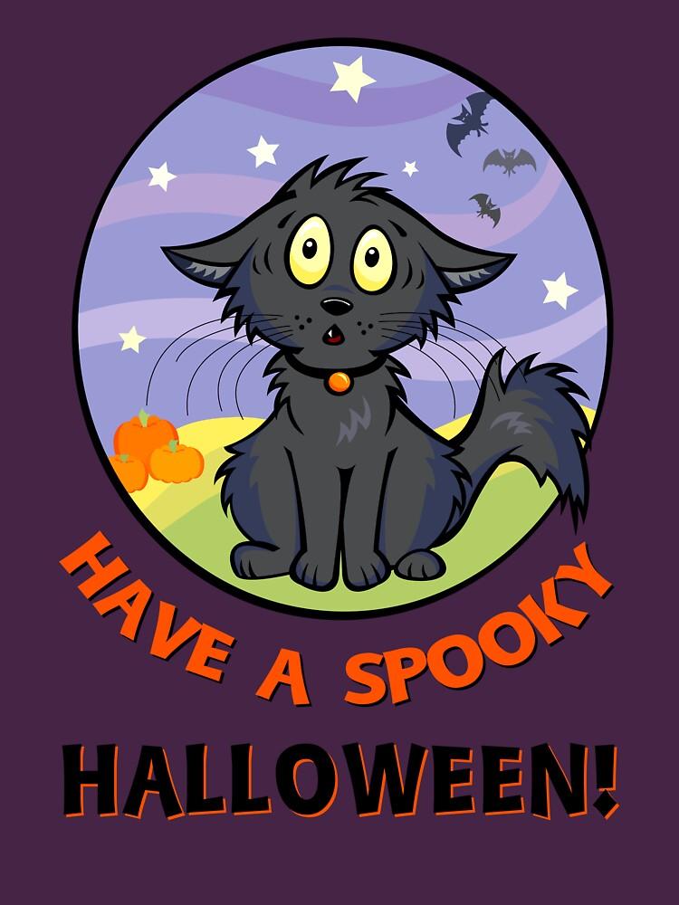 Scaredy Cat - Alternate T-shirt! by CGafford