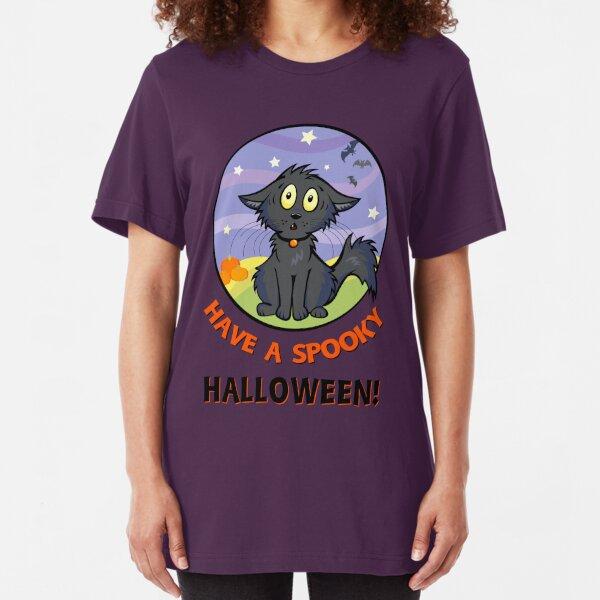 Scaredy Cat - Alternate T-shirt! Slim Fit T-Shirt