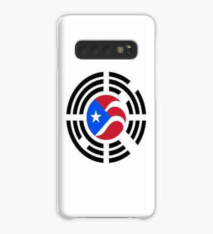Puerto Rican Korean Multinational Patriot Flag Series Case/Skin for Samsung Galaxy