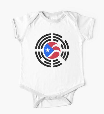 Puerto Rican Korean Multinational Patriot Flag Series Kids Clothes