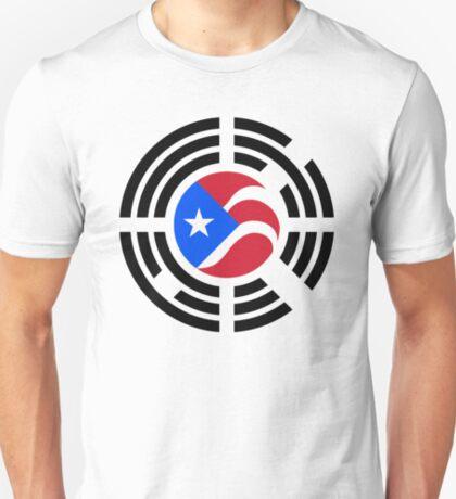 Puerto Rican Korean Multinational Patriot Flag Series T-Shirt