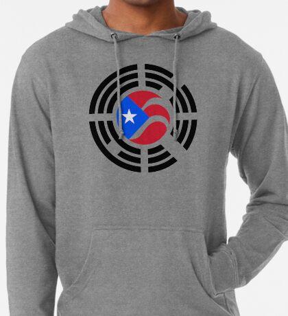 Puerto Rican Korean Multinational Patriot Flag Series Lightweight Hoodie