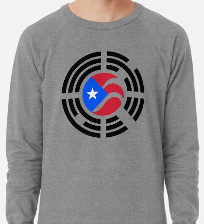 Puerto Rican Korean Multinational Patriot Flag Series Lightweight Sweatshirt