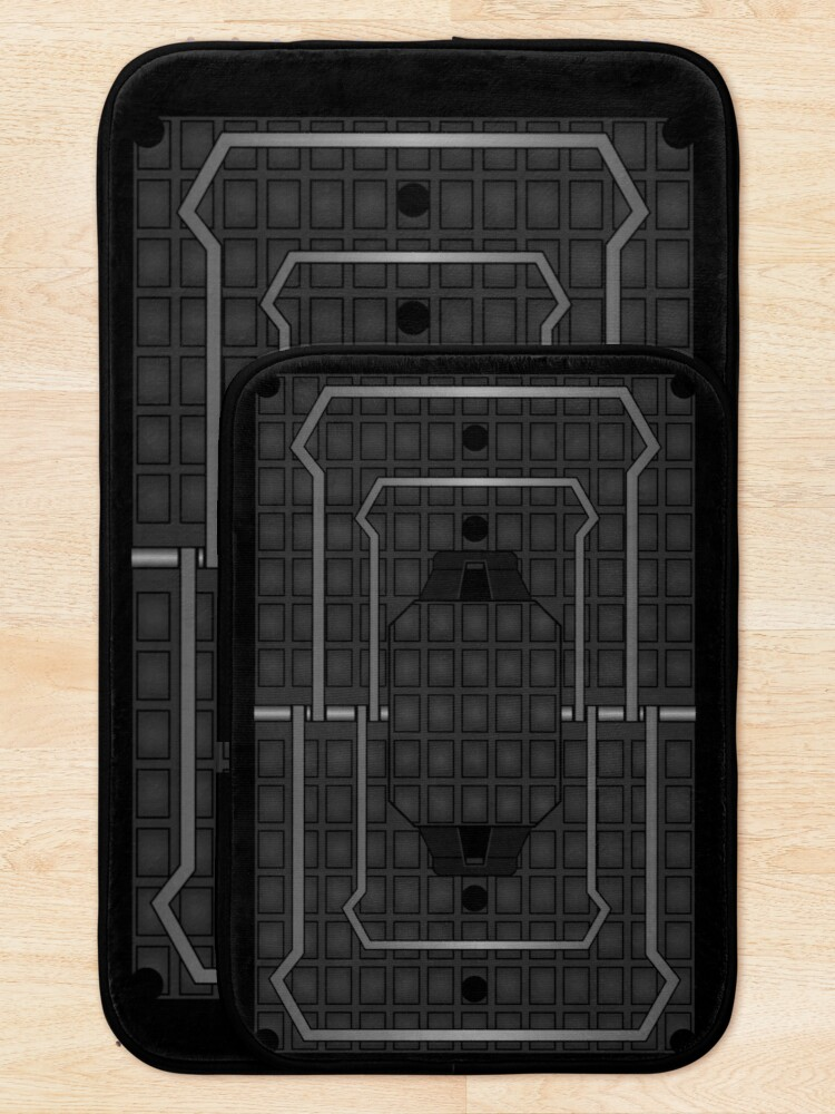 Alternate view of JTF2 Bath Mat / Bear Frost Trap  [Rx-RB] Bath Mat
