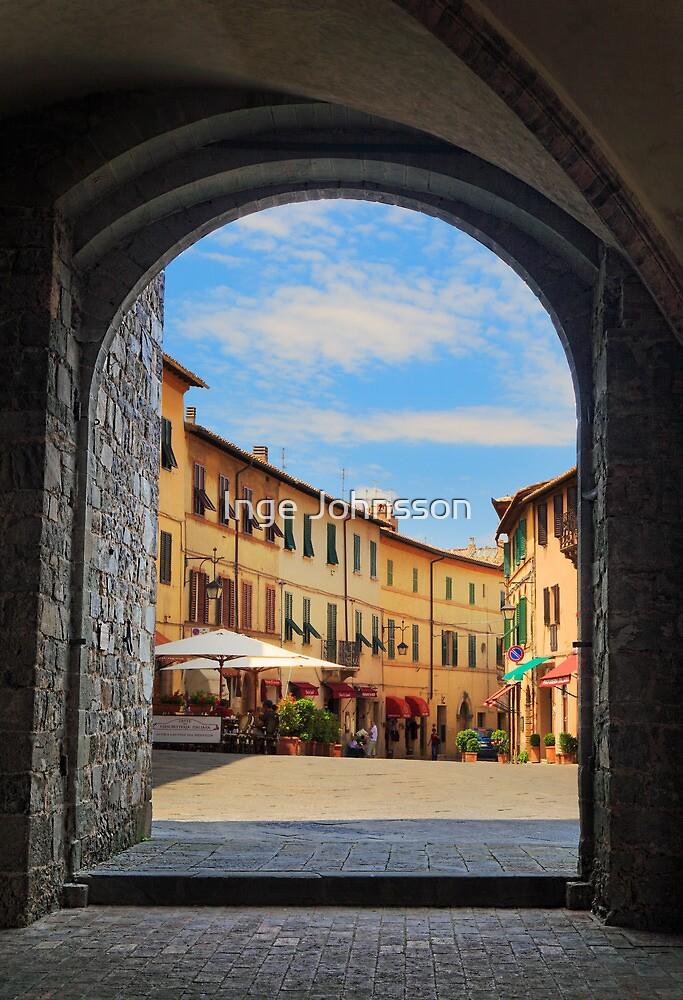 Montalcino Loggia by Inge Johnsson