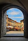 Montalcino Loggia by Inge Johnsson