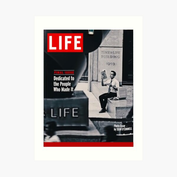 Walter Mitty LIFE Cover Art Print
