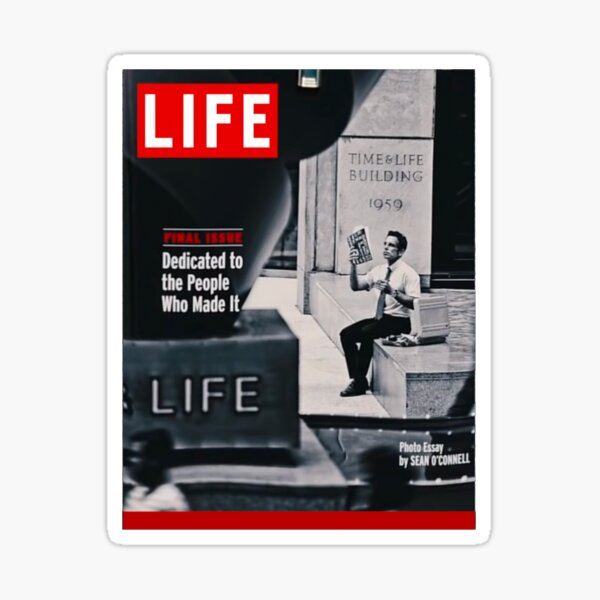 Walter Mitty LIFE Cover Sticker