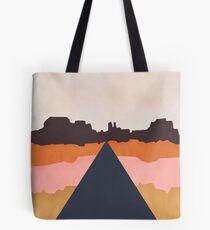 Cool Wind Desert Road Tote Bag