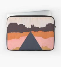 Cool Wind Desert Road Laptop Sleeve